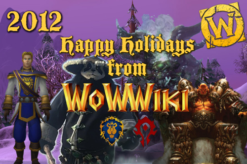 WoWWiki Holiday card 2012