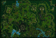 The Druids Arise Map