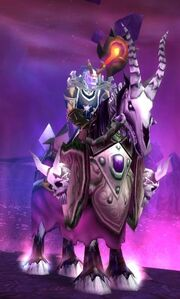 Purple Skeletal Warhorse