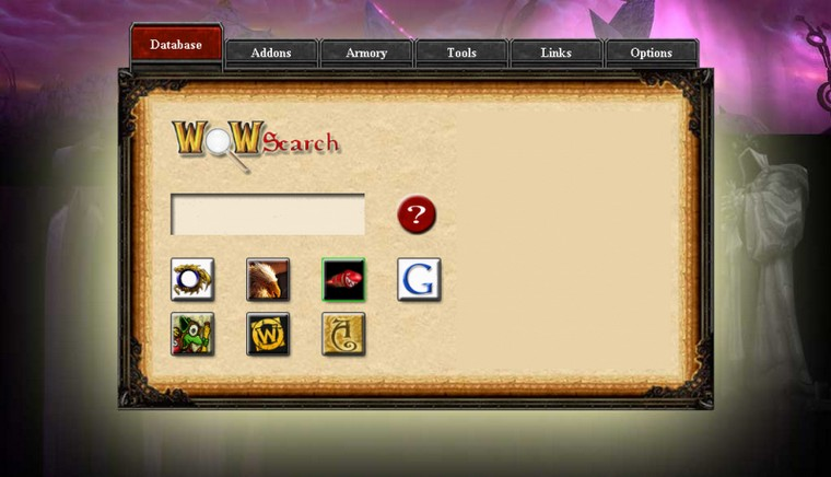 WoWSearch.it Homepage