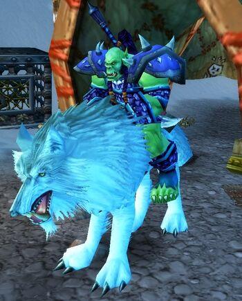 Frostwolf Wolf Rider Commander