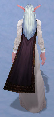 Cape of the Black Baron, Snow Background, NE Female