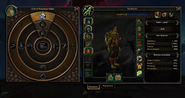 Heart of Azeroth interface