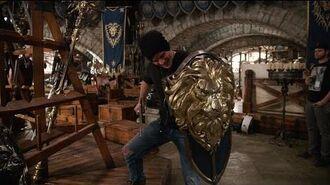 "Warcraft - Featurette ""Rob Kazinsky Tours War Room"" (HD)"