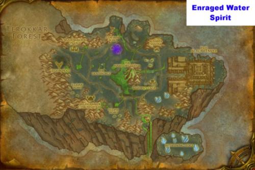 Enraged water spirit location 500px