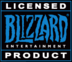 Blizzard licensed product logo
