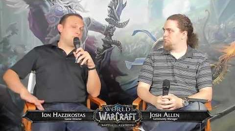 WoW Live Developer Q&A w Ion Hazzikostas-7 19 2018