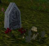 Decorated Headstone