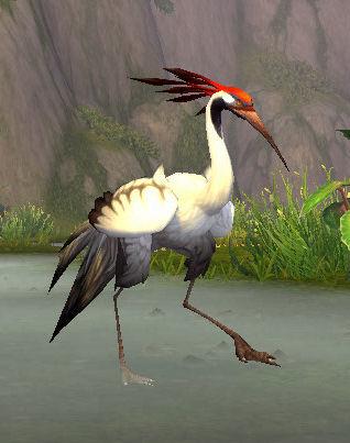 Whitefisher Crane