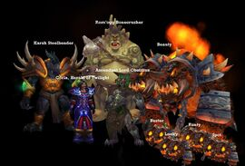 Blackrock Caverns bosses