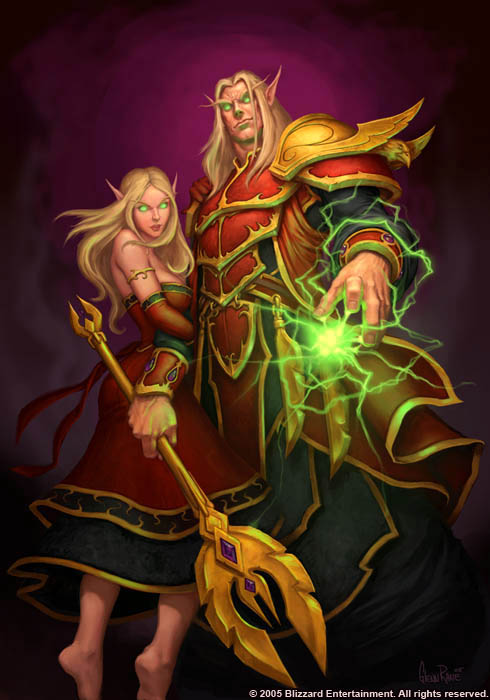 Blood Elf Wowwiki Fandom Powered By Wikia