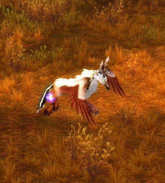 Static-Charged Hippogryph