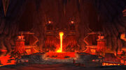 Inside Sulfuron Spire