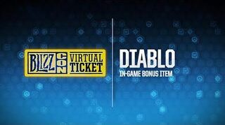 BlizzCon 2018 Virtual Ticket - Diablo In-Game Item Reveal