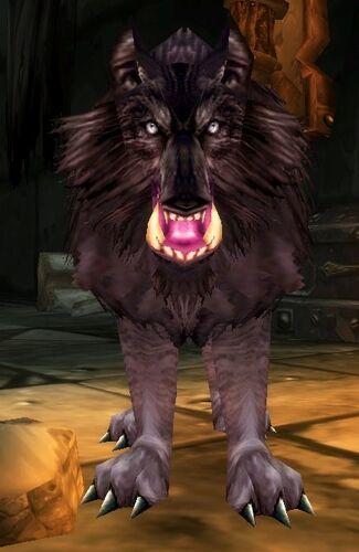 Bloodaxe Worg Pup