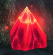 Mysterious Red Crystal