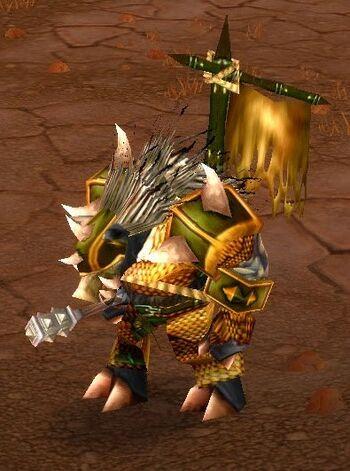 Razorfen Battleguard