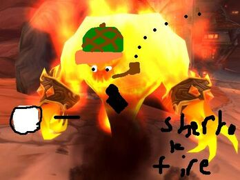 Sherlok fire elemental