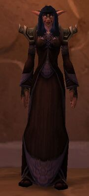 Black Mageweave with Robe