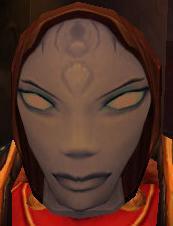 Flimsy Female Draenei Mask