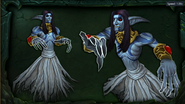 BlizzCon Legion - Azsuna Spector concept art - male counterpart to banshee