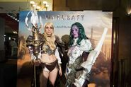 Warcraft movie premiere-France-human elf ClanHumans