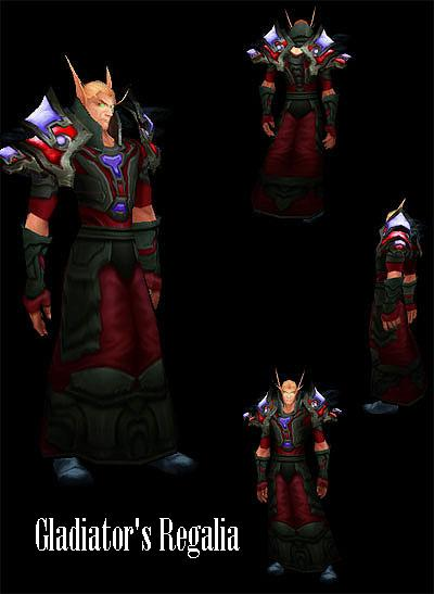 Gladiator's Regalia Blood Elf Mage