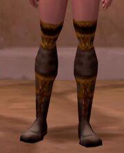 Simple linen boots screenshot