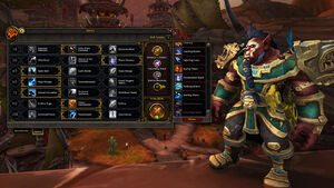 PVP Talent system - Battle for Azeroth - Warcraft