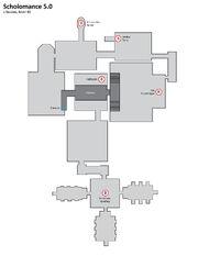 Scholomance instance map