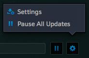 Battle.net app-Beta-WoW-PTR-downloading-Setting-Pause