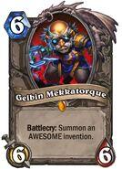 Gelbin Mekkatorque Hearthstone card