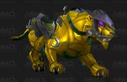 Jeweled dawnstone panther
