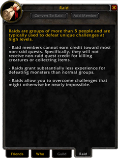 Pre-Raid List