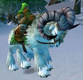 Mounted Ironforge Mountaineer