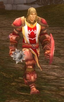 Crimson Bodyguard