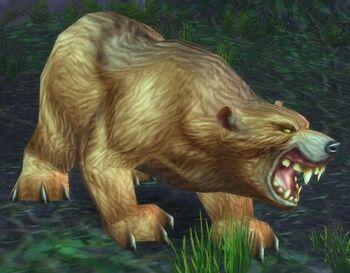Giant Ashenvale Bear
