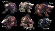 Nightelf-Bearforms
