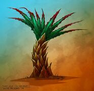 Lost Isles Cactus Palm concept art
