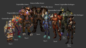 Hunter Tier Sets & Hunter sets | WoWWiki | FANDOM powered by Wikia