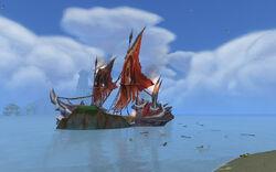 Draka's Fury Wreck