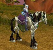 Brown Skeletal Horse