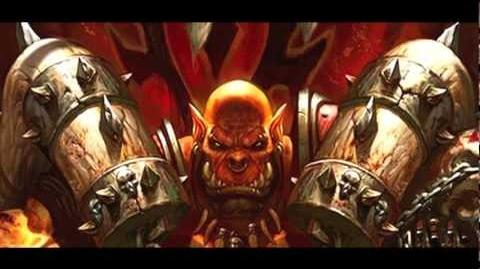 The Story of Garrosh Hellscream Lore