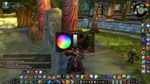 WoW - Chat Panel Customization