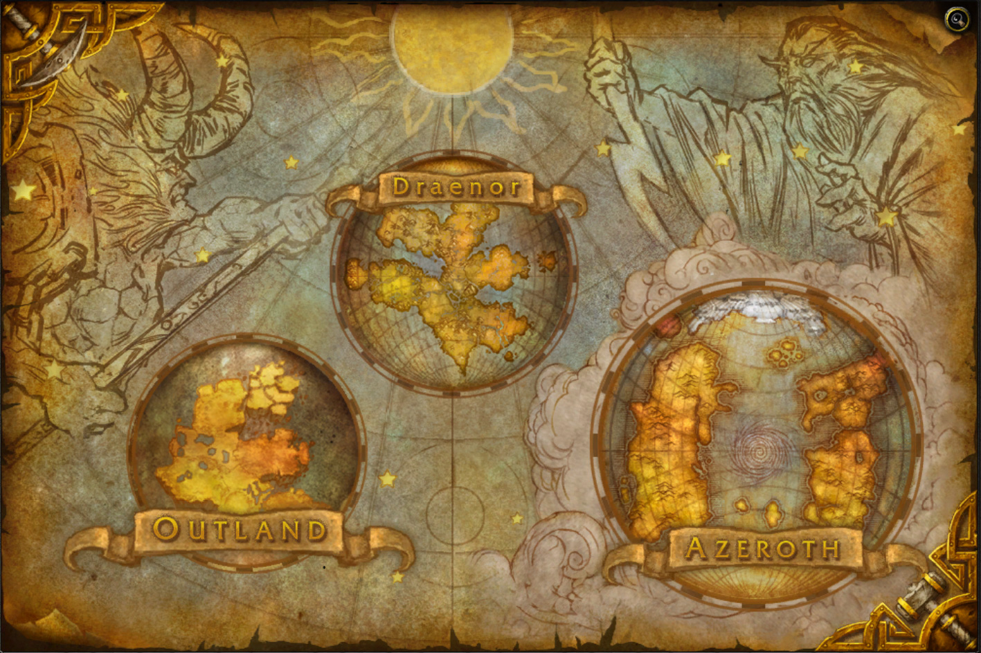 Warlords of draenor maps wowwiki fandom powered by wikia warlords of draenor maps gumiabroncs Choice Image