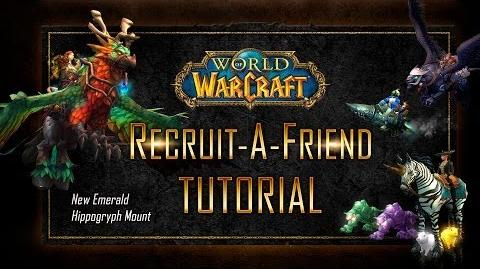 World of Warcraft Recruit A Friend Tutorial