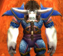 Blue Dragonscale Breastplate