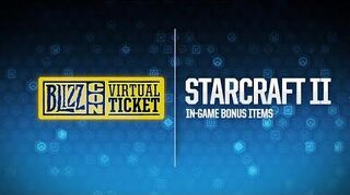 BlizzCon 2018 Virtual Ticket - StarCraft In-Game Item Reveal