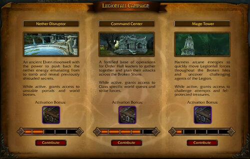 Legionfall bases