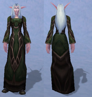 Vestments of the Scholar, Snow Background, NE Female